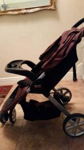 Britax b agile stroller and accessories