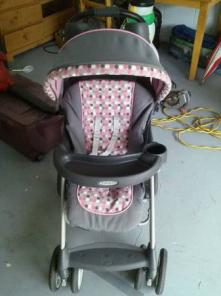 Graco girls stroller
