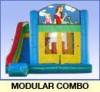 Inflatable, Modular 7 in one Combo, Bounce House, slide and more... - $1 600