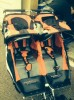 Double jogging stroller $30